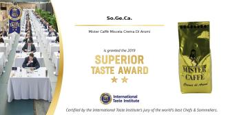 2019: Superior Taste Award, International Taste Institute Bruxelles - Miscela Crema di Aromi (6)