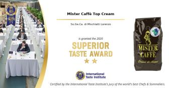 2020: Superior Taste Award, International Taste Institute Bruxelles - Caffè Miscela Top Cream (1)