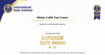 2020: Superior Taste Award, International Taste Institute Bruxelles - Caffè Miscela Top Cream (2)