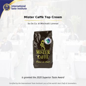 2020: Superior Taste Award, International Taste Institute Bruxelles - Caffè Miscela Top Cream (3)